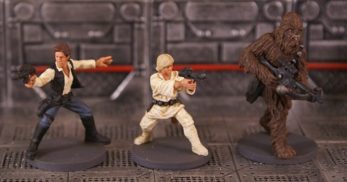 Han, Chewie Luke Imperial Assault skirmish beginner strategy guide