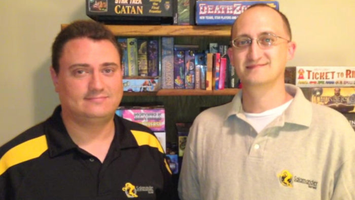 Founders of Salamander Games