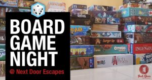 Tulsa Board Game Night @ Next Door Escapes | Tulsa | Oklahoma | United States